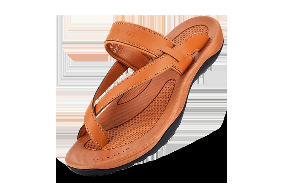 Spot men's trendy slippers